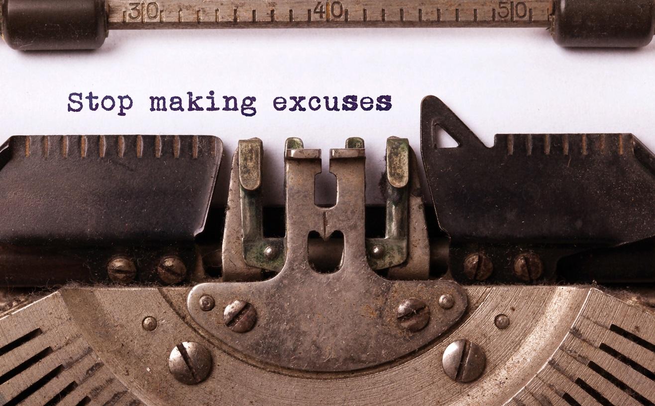 La máquina de las excusas